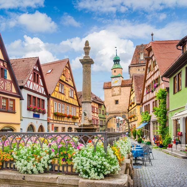 German Courses in Rothenburg