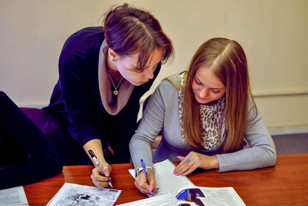 One-to-One Russian Courses St Petersburg