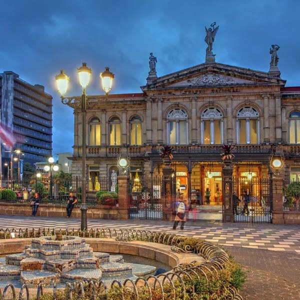 National Theater of Costa Rica in San Jose