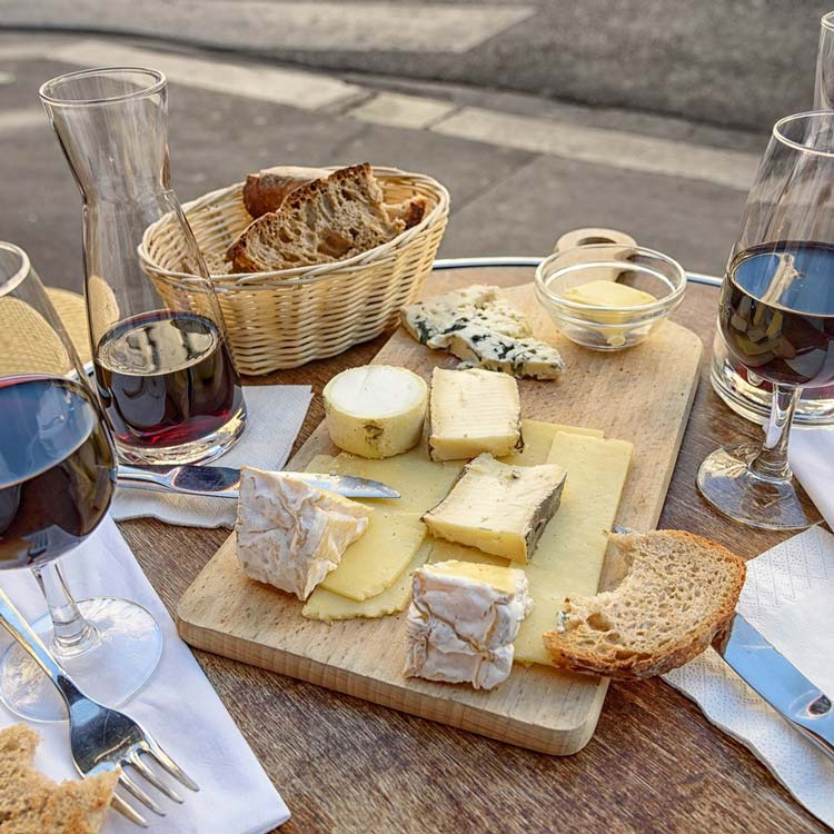 Aungouleme Wine and Cheese