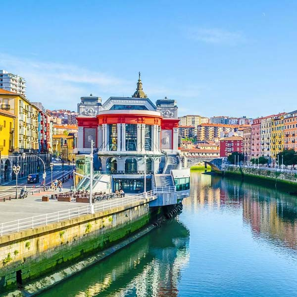 Colourful City of Bilbao