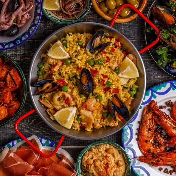 Typical Food in Seville